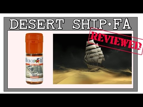 """FlavorReview"" DESERT SHIP BLEND - FlavourArt [Solo Recipe + Notes] FA Tobacco"