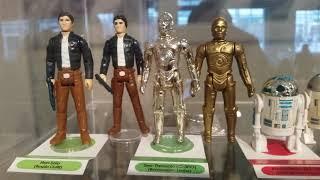 Full set Vintage Star Wars figure collection with variation sample