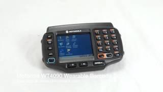 Motorola WT4090 Wearable Barcode Scanner - Boot Up #1