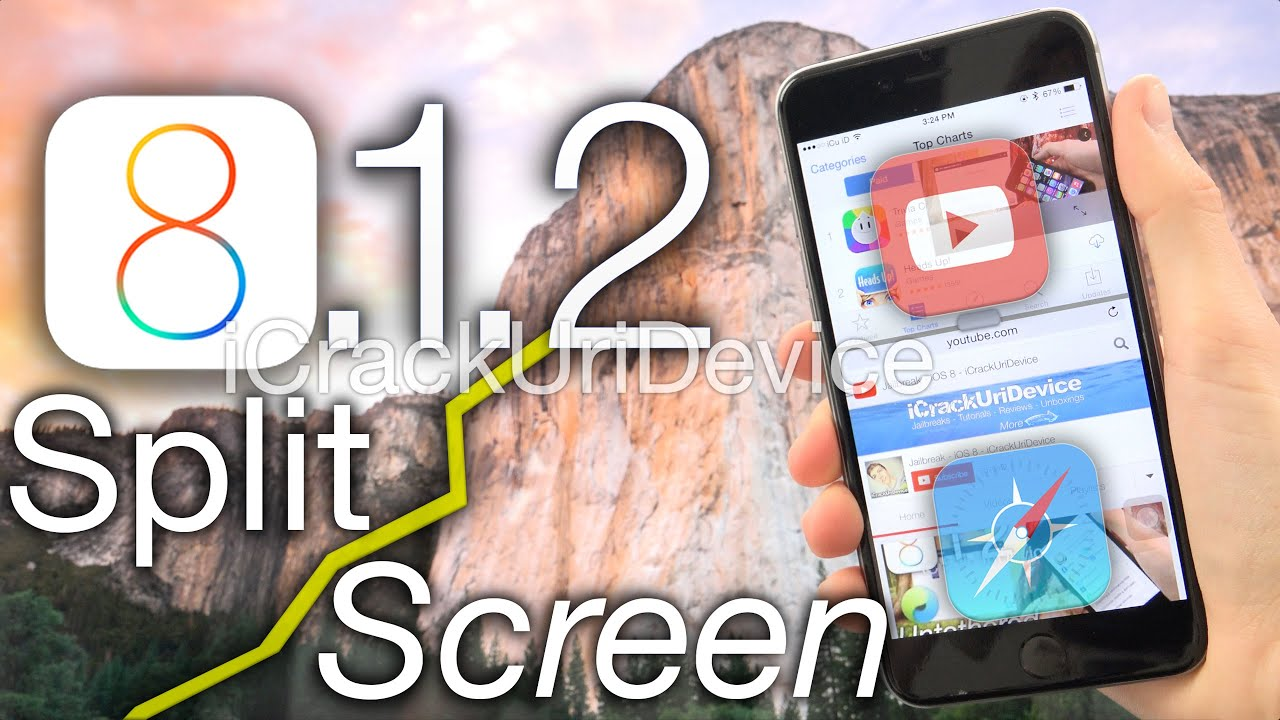 youtube how to get rid of split screen on ipad
