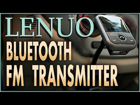 LENUO FM TRANSMITTER BLUETOOTH- NEW BT67G, UNBOXING & REVIEW 2017