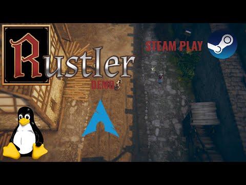 Rustler Demo - Linux - Steam Play | Gameplay