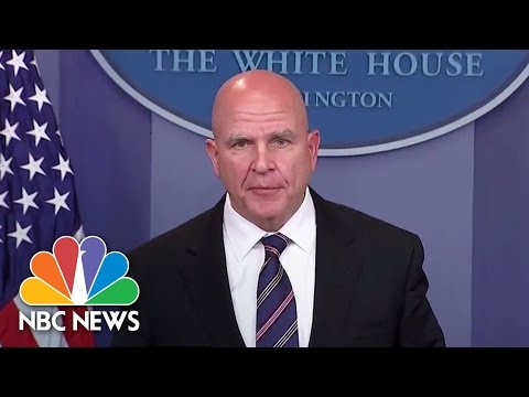 H.R. McMaster: President Donald Trump 'In No Way' Compromised Intel Sources Or Methods | NBC News