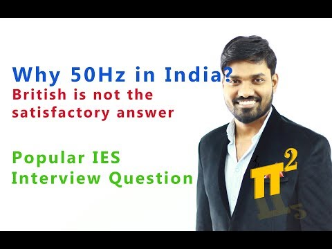 Why 50Hz In India | Why 60Hz In USA | Historical FACTS Of Electricity