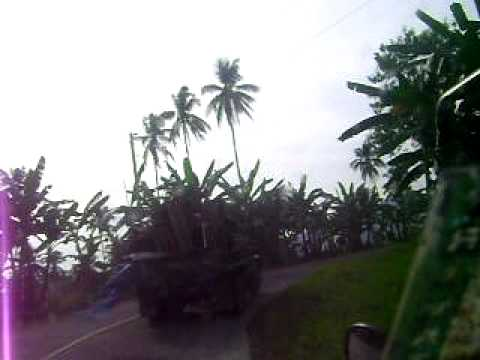 Travelling Along the Hi-ways of Maguindanao (15 days after the lifting of Martial Law)