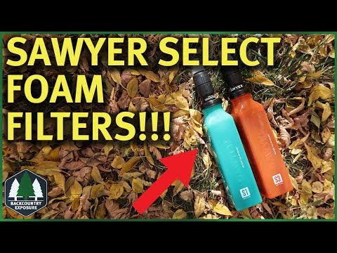 Sawyer Select Foam Filter Systems | S1 and S3 First Look!