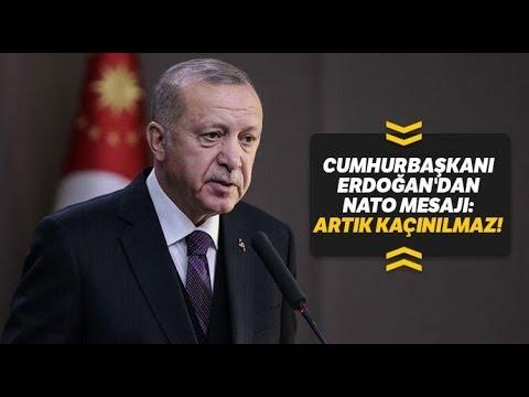 Cumhurbaşkanı Erdoğan'dan NATO, Doğu Akdeniz ve Adil Öksüz Açıklaması