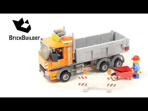 Lego City 4434 Dump Truck - Lego Speed Build