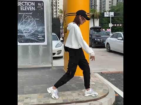 테크웨어 멀티포켓 남자 스트릿 조거팬츠 여성 S 사이즈 착용