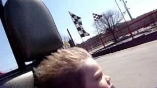 Go Kart Racing With Kaden.