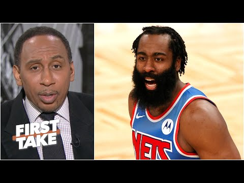 Stephen A. reacts to James Harden's triple-double in Nets debut | First Take