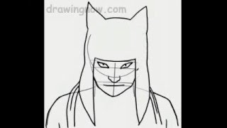 Learn to Draw Kankuro from Naruto