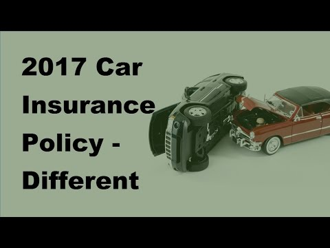 2017 Car Insurance Policy |  Different States Have Different Rules for Cheap Car Insurance