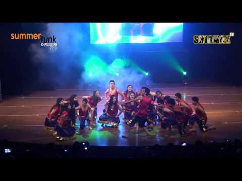 Govinda Ala Re - Shiamak Summer Funk - Chandigarh 2013