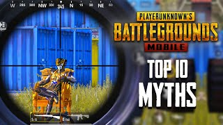 Top 10 Mythbusters in PUBG Mobile | PUBG Myths #8