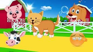 учить животных для малышей | животные для детей видео развивающее | часть 1