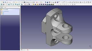 Freecad Mechanical Drawing Part Design5