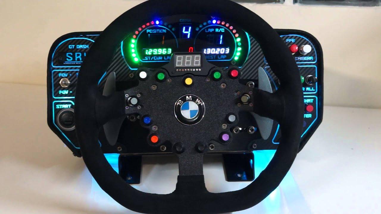 Srx Gt Dash For Fanatec Csw Wheel Youtube