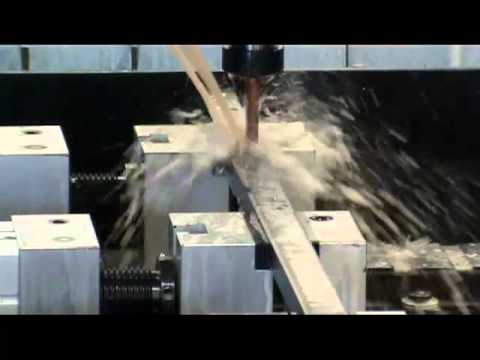 CMA Rapid Coordinate Drilling Machine drilling a range of holes.mp4