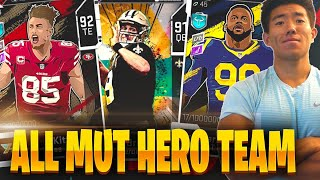 ALL MUTHERO TEAM BUILDER! SAQUON, BREES & MORE! Madden 20 Ultimate Team