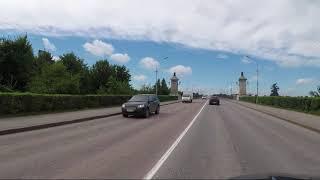 Великий Новгород из окна машины