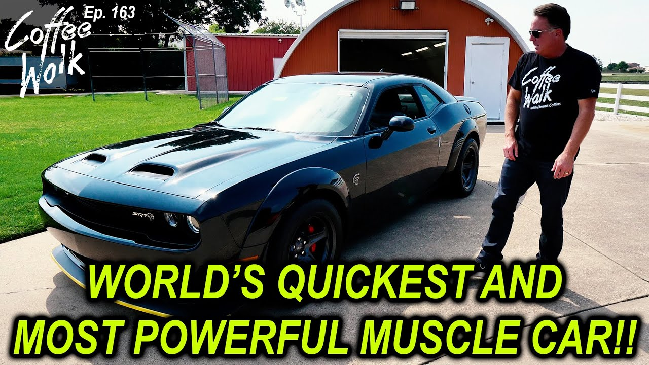 SRT SUPER STOCK - THE WORLDS MOST POWERFUL MUSCLE CAR!!