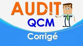 Audit S6 - QCM Corrigé