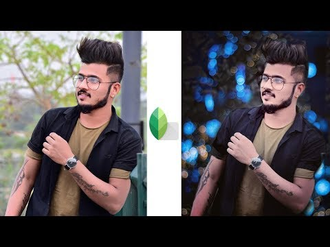 Snapseed Bokeh Effect Editing 2019 | New Color Effects Editing | Snapseed Editing Tutorial