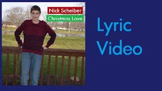 Christmas Love - Original Christmas Song - Lyric Video