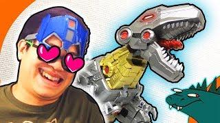 Planet X Vulcun NOT Grimlock Transformers Fall of Cybertron Review