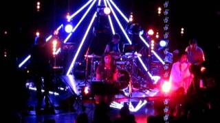 Ladytron. The Paradise Boston 10/7/11. Little Black Angel ( Death In June cover )