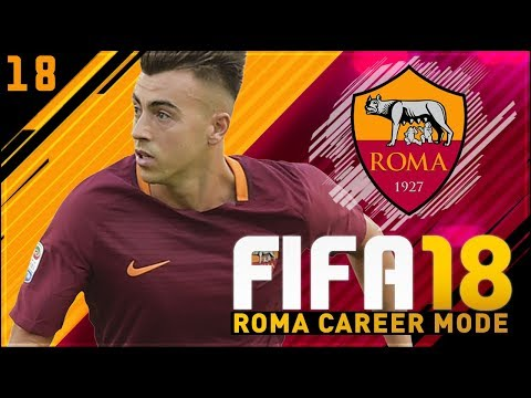 FIFA 18 Roma Career Mode Ep18 - HAT TRICKS ALL ROUND!!