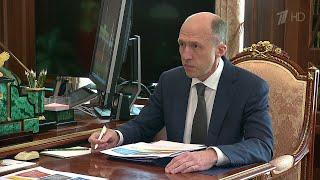 Развитие Республики Алтай обсудил Владимир Путин с врио главы региона Олегом Хорохординым.