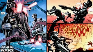 How Vader Created a Squad of Elite Cybernetically Enhanced DEATH TROOPERS! (Canon)