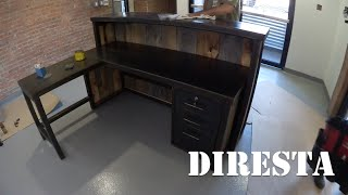 ✔ Diresta Reception Desk