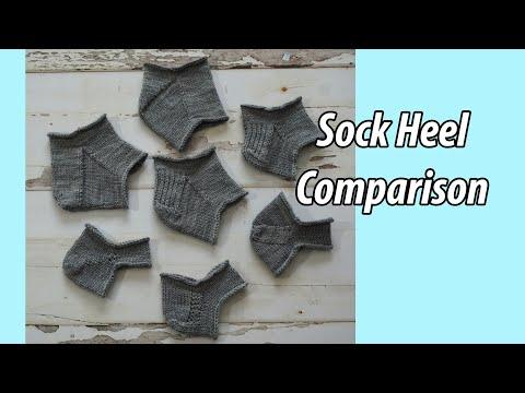 Sock Heel Comparison
