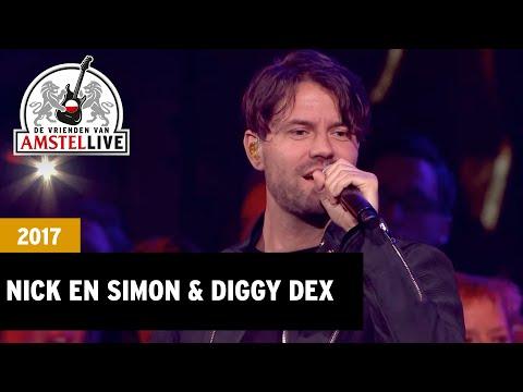 Nick&Simon & Diggy Dex - Treur Niet (De Vrienden van Amstel LIVE! 2017)