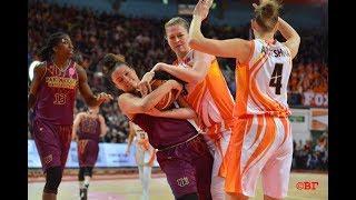 Women's Basketball Euroleague 2017/2018. BC UMMC vs BC Yakin Dogu (Turkey)