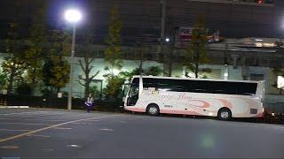 夜行高速バス乗車レポート 海部観光 マイ・フローラ 東京・新宿発徳島・阿南津乃峰行 2014年12月