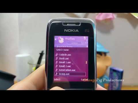 Nokia E51 Retrospective- Ringtones, Themes and More
