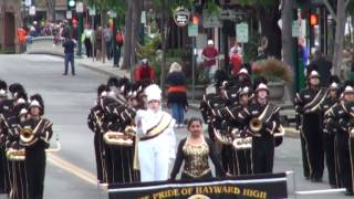 Hayward HS - The Voice of the Guns - 2010 Foothill Band Review