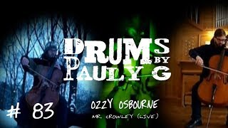 Ozzy Osbourne  - Mr. Crowley [Live Version] Full Band Collaboration Cover