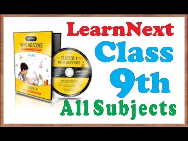 LearnNext(Best Ever Software)Demo Class 9