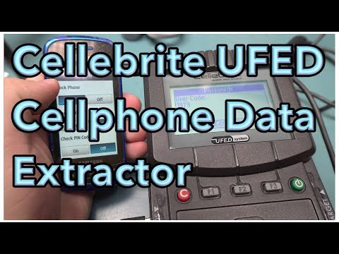 Cellebrite UFED Cellphone Forensic Extraction Device Teardown