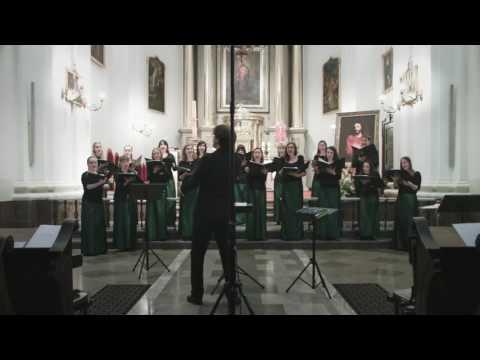 Chór WUM: Johannes Brahms - Fragen op. 44 nr 4 (Zwölf Lieder und Romanzen)