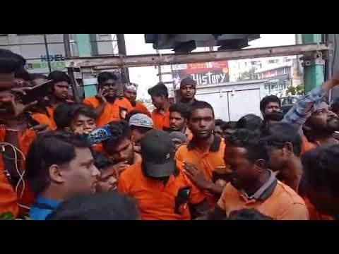 Swiggy strike in Chennai  Adyar