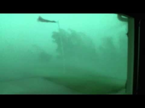 Crazy High Winds Generated by Thunderstorm!