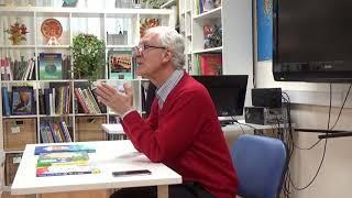 Встреча с Виктором Луниным в РГДБ, IV фестиваль детской книги