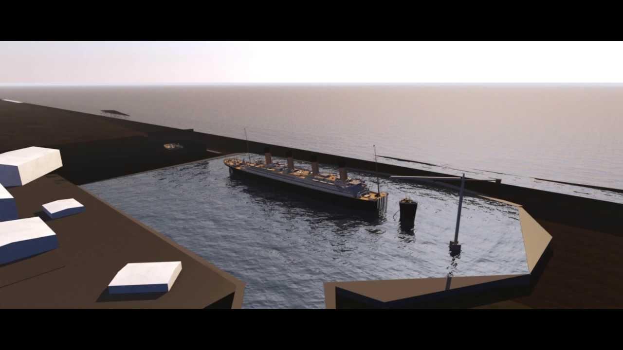 Baja Studios Titanic Set Update 20 C4d Youtube