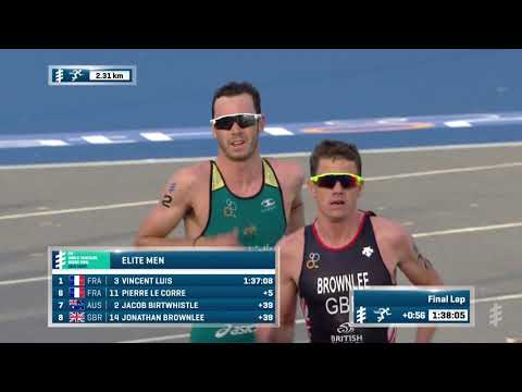 2018 ITU World Triathlon Gold Coast - Elite Men's Highlights